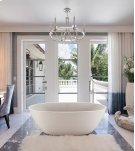 Alissa 125 Freestanding Oval Tub in SculptureStone Product Image