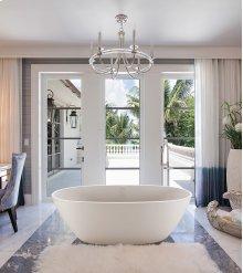 Alissa  71-In, Large, Stunning Freestanding Tub  MTI Baths