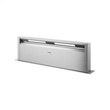 Retractable downdraft with LED lighting AL 400 720 Stainless Steel Width 48 inches Air extraction/recirculation with AR 400/401 blowers or AR 413 recirculation kit Comes without blower