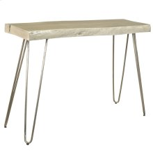Nila Console Table in Light Grey