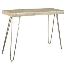 Nila Console Table in Light Grey