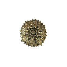 Victorian Flower - Brite Brass