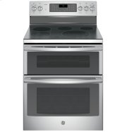 "GE Profile™ Series 30"" Free-Standing Double Oven Convection Range Product Image"
