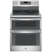 "GE Profile™ 30"" Free-Standing Double Oven Convection Range Product Image"