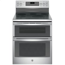 "GE Profile™ Series 30"" Free-Standing Double Oven Convection Range"