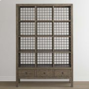 Burley Brown Peninsula Room Divider Product Image