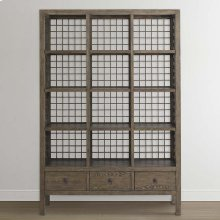 Burley Brown Peninsula Room Divider