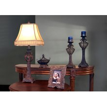 LAMP - 5PCS GIFT BOX / BROWN LAMP-BOWL-FRAME-CANDLESTICKS