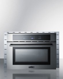 """Stainless Steel Trim Kit To Extend Width of Cmv24 Speed Oven To 27"""""""