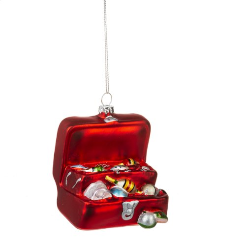 Tackle Box Ornament.