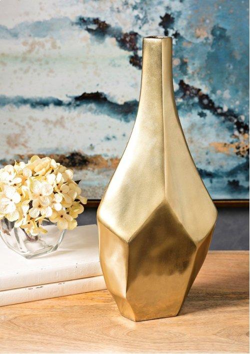 Sienna Small Gold Vase