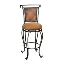 Milan Swivel Barstool Copper