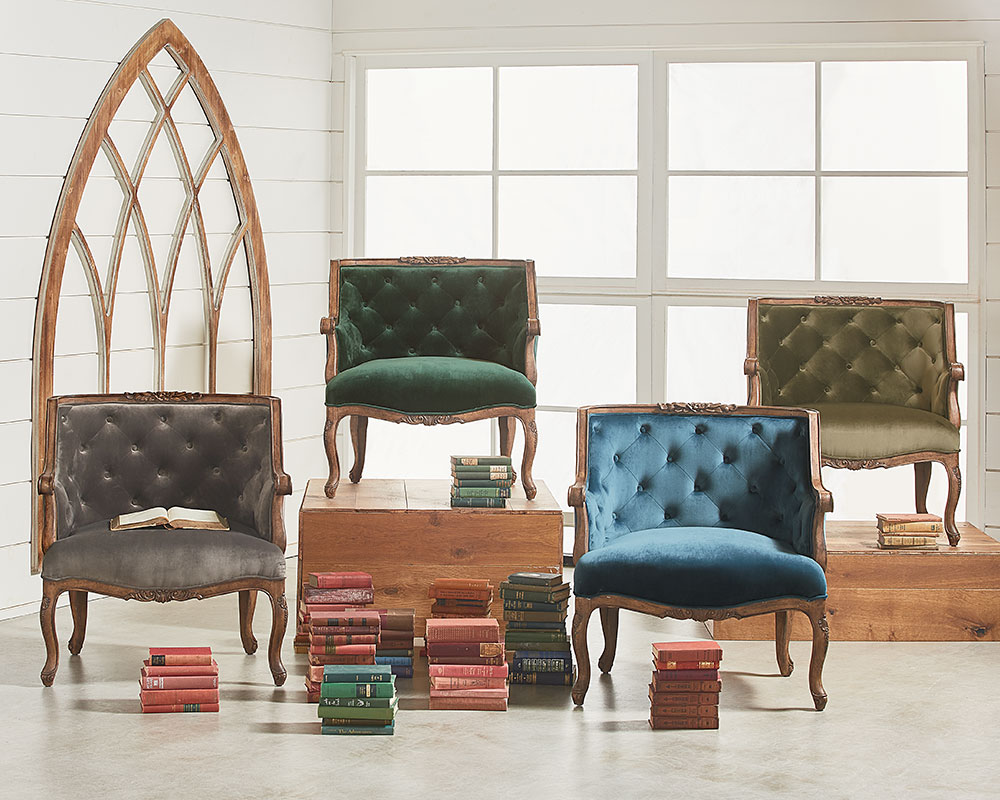 Superbe Bloom Accent Chairs