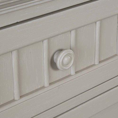 Cotton White Nantucket Dresser