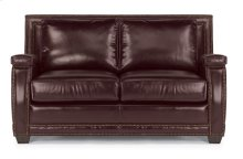 Raleigh Leather Loveseat