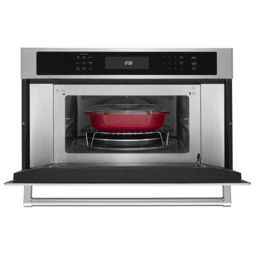"30"" Built In Microwave Oven with Convection Cooking - Stainless Steel"