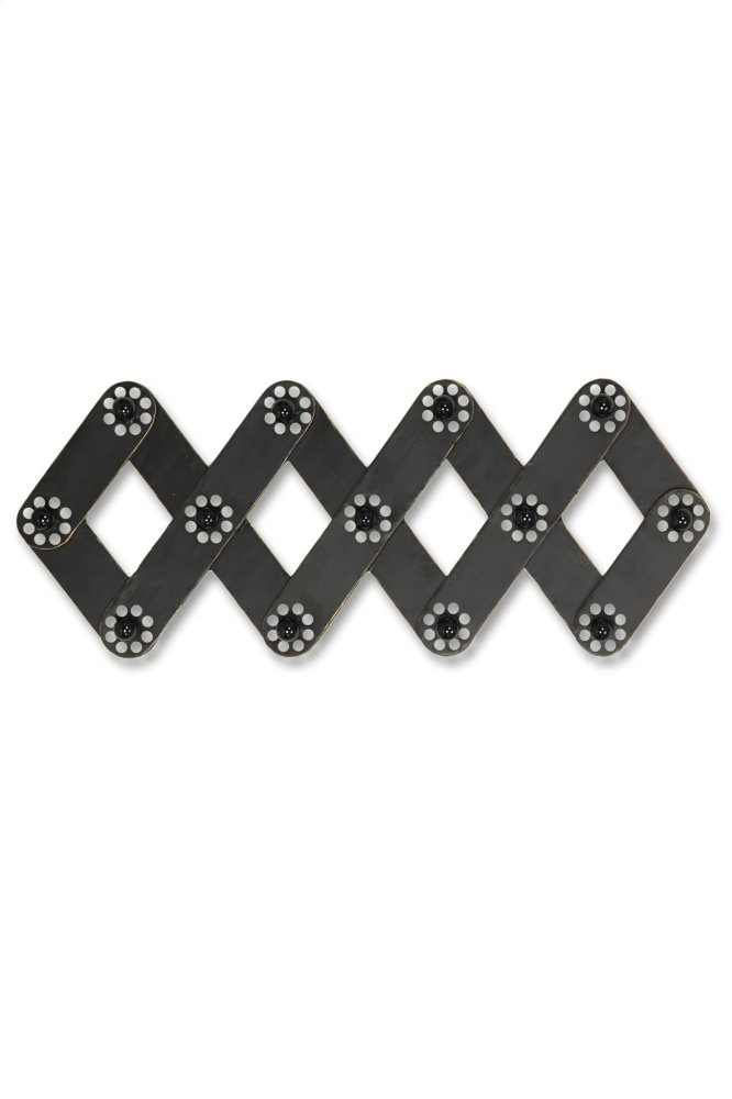 Metal Wall Hooks With Decorative Knobs