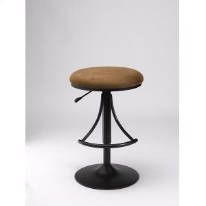 Hillsdale FurnitureVenus Backless Stool Brown With Black Base