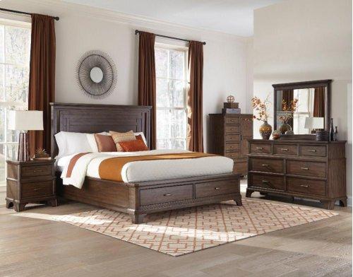 Telluride Queen-Size Bed Storage Side Rails
