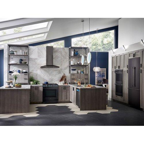 "21 cu ft. Capacity 3-Door French Door Panel Ready 36"" Built-In Chef Collection Refrigerator"