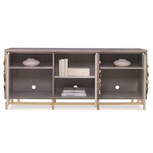 Origami Multi-Use Cabinet - Ash Grey/Lin