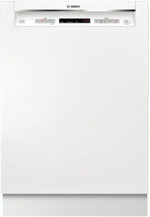 "24"" Recessed Handle Dishwasher 300 Series- White"