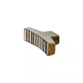 Brut Knob - CK20033 Silicon Bronze Brushed
