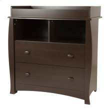 Changing Table with Station - Espresso