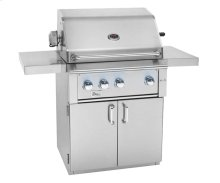 """Fully Assembled Deluxe Door & 2-Drawer Combo Grill Cart for 36"""" Alturi"""