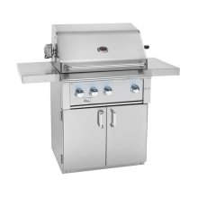 "Fully Assembled Deluxe Door & 2-Drawer Combo Grill Cart for 36"" Alturi"