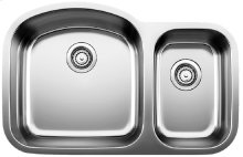 Blanco Stellar® 1.6 Bowl - Stainless steel refined brushed finish