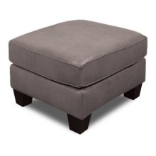 Angie Leather Ottoman 4637LS