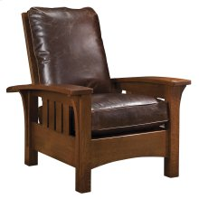 Loose Cushion, Oak Bow Arm Morris Chair