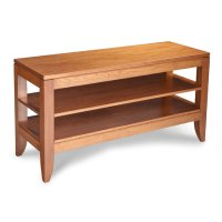 Justine Open TV Stand, Small Product Image