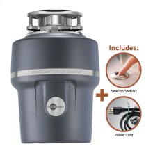 Evolution Essential XTR Garbage Disposal with Cord and SinkTop Switch, 3/4 HP