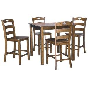 Ashley FurnitureSIGNATURE DESIGN BY ASHLEYSquare Counter TBL Set (5/CN)