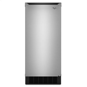 Gold® 15-inch Ice Maker with Reversible Door - STAINLESS STEEL
