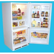 17.6 Cu. Ft. Frost-free Bottom Mount Refrigerator/Freezer