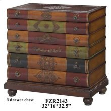 Library 6 Drawer Chest