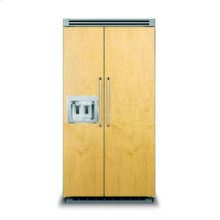 """42"""" Custom Panel Side-by-Side with Dispenser"""