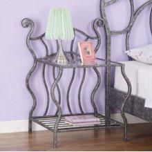 Parisian 2-Shelf Nightstand