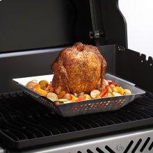 Stainless Steel Chicken Roaster & Wok
