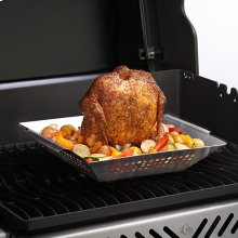 Stainless Steel Chicken Roaster & Wok