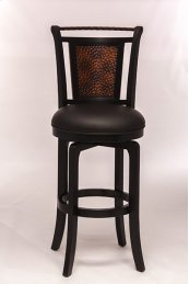 Norwood Counter Stool Black