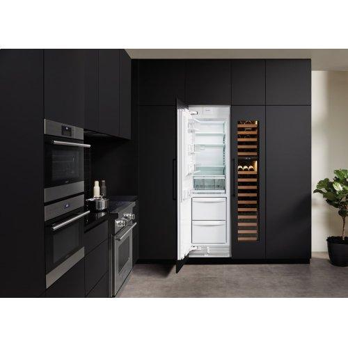 "24"" Designer Column Refrigerator/Freezer - Panel Ready"
