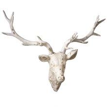 Distressed Deer Wall Decor.