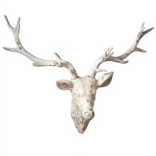 Distressed Deer Wall Decor.