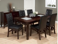 Table & 6 Tufted Chairs