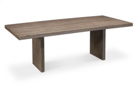 """Auburn Bay Trestle Table, Auburn Bay Trestle Table, 42""""x84"""", Solid Top"""