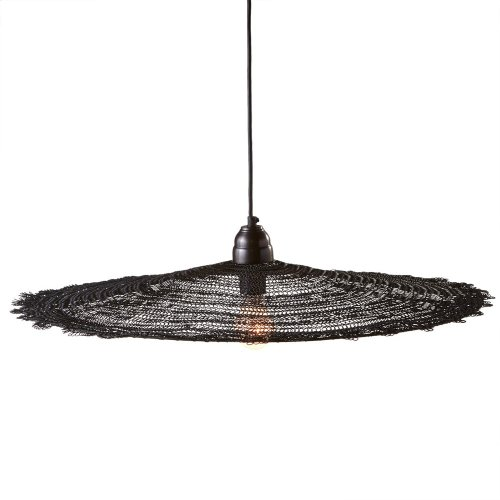 Large Round Wire Pendant. 100W Max.
